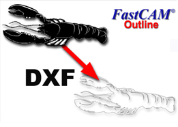 FastCAM Outline NC solution for cutting graphics