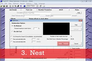 FastCUT Optimizer | Rectangular, Linear, CTL | FastCAM